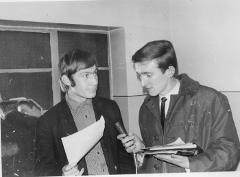 110 Charlie Watts and Laurie Stead (1965 A)