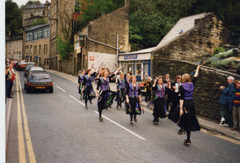 24A Mortimers Ladies Dance Side (from Nottingham at Holmfirth)