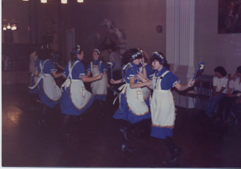 16 Ring Of bells Ladies Dance Side From Wakefield