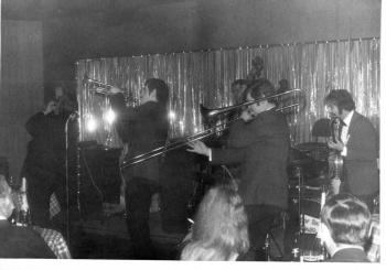 jazz group onstage