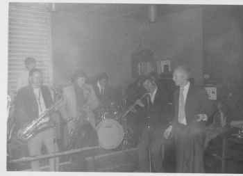 Jazz group in club