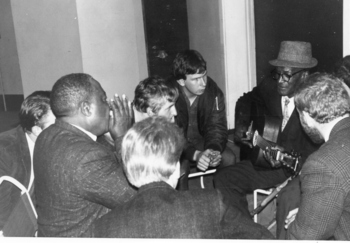 Group with S J Estes and Willie Dixon?